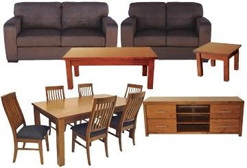12 Piece Furniture Rental Package